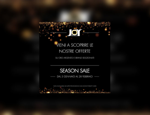 Joy gioielli – Season sale