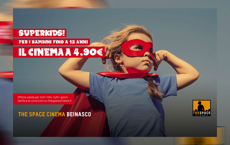 The Space Cinema – SUPERKIDS – Le Fornaci Mega Shopping