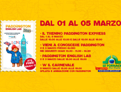 Paddington English Lab a Le Fornaci!